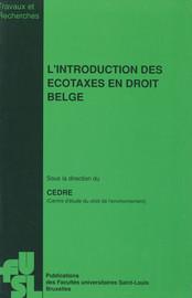 L'introduction des écotaxes en droit belge