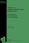 Statuts et responsabilités des édificateurs