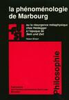 La phénoménologie de Marbourg