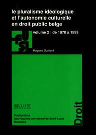 Chapitre I. L'article 6 bis de la Constitution: le principe de pluralisme idéologique et philosophique érigé en règle constitutionnelle