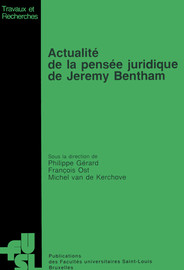 Codification et temporalité dans la pensée de J. Bentham