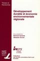 Développement durable et économie environnementale régionale