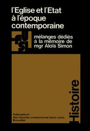 Bibliographie de Monseigneur AloïsSimon