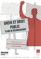 Grève et droit public