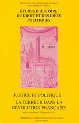 Justice et politique : la Terreur dans la Révolution française