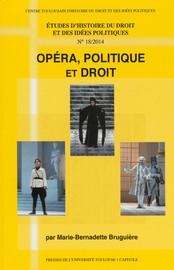 Opéra, politique et droit