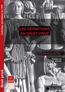 Les définitions en droit privé
