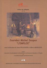 """Journées Michel Despax """"L'emploi"""""""