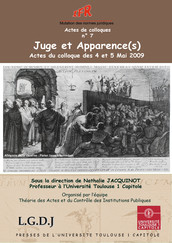 Juge et Apparence(s)