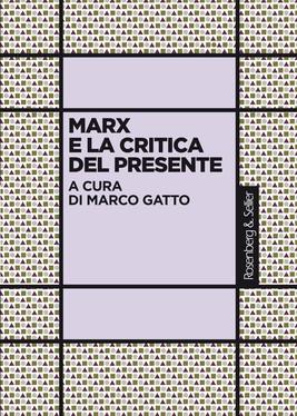 Marx e la critica del presente