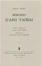 Mémoires d'Arii Taimai