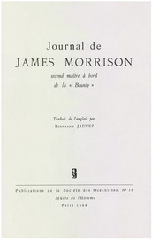 Journal de James Morrison, second maître à bord de la « Bounty »