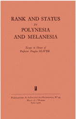 Rank and Status in Polynesia and Melanesia