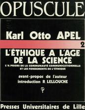 L'éthique à l'âge de la science