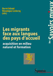 Introduction : les adultes migrants face aux langues des pays d'accueil