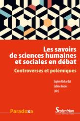 Les savoirs de sciences humaines et sociales en débat