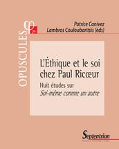 L'Éthique et le soi chez Paul Ricœur