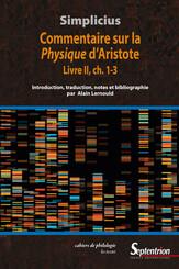 Commentaire sur la Physique d'Aristote. Livre ii, ch. 1-3