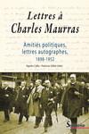 Lettres à Charles Maurras