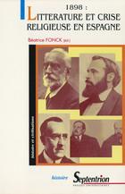 1898 : littérature et crise religieuse en Espagne