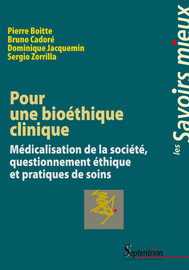 7. Le contexte institutionnel de l'éthique clinique