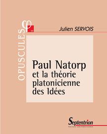 Paul Natorp et la théorie platonicienne des Idées