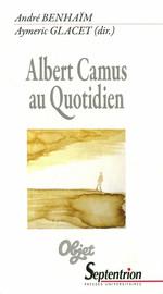 Entre rhétorique et ontologie: Le quotidien dans La Chute d'Albert Camus
