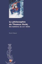 La Philosophie de Thomas Reid